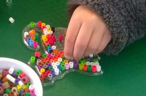 Building fine motor skills? For APS kids, it's all about having fun!